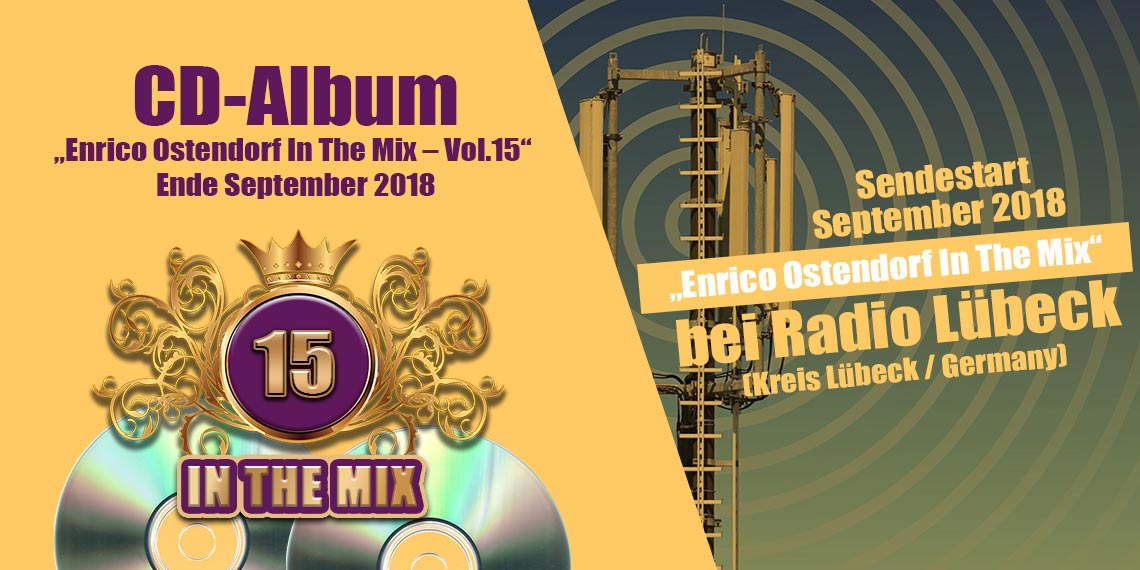 IN THE MIX Vol. 15 ab Ende September